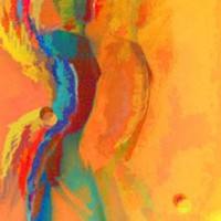 Digital painting • 50x75cm • afwerking dibond-acryl • serie: In beweging •ook mogelijk in andere formaten of op aluminium-dibond
