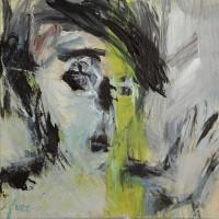 Portret • acryl op canvas • 30x30cm