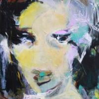Grace van den Dobbelsteen kunst Tilburg • PORTRET • 80x100cm