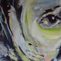 Portret • acryl op canvas • 50x60cm