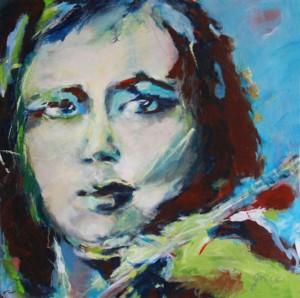 Grace van den Dobbelsteen Tilburg portretten in opdracht en vrije portretkunst, figuratief en abstract, geschilderd en digitale kunst
