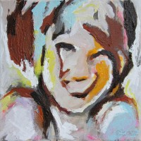 Grace Schilderijen memories of the sea youngster 15x15 in epoxy 300 dpi