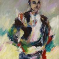 Serie: In Beweging • Liberté • acryl op canvas • 80x100cm