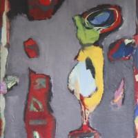 Abstract schilderij • 80x100 • niet beschikbaar