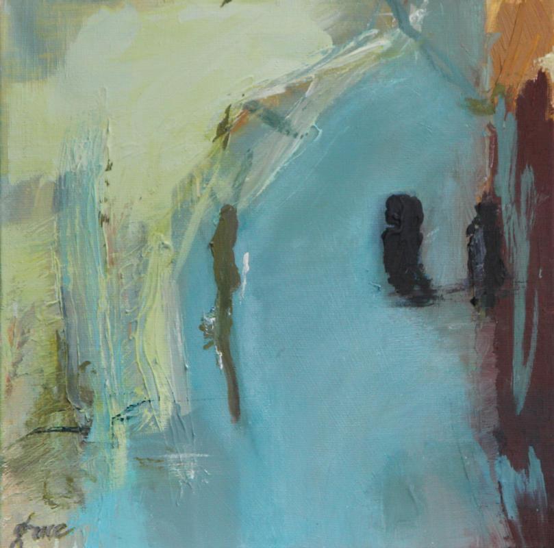 Favoriete Abstracte schilderijen van Tilburgse kunstenaar: in Waalwijk &VX81