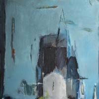Serie: In dit huis • acryl op linnen • 100x120 cm