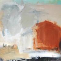 Serie: Abstracte landschappen - In dit huis • 100x115cm