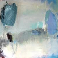 Serie: Abstracte landschappen - Vrijheid • 100x120cm
