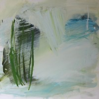 Serie: Abstracte landschappen - Vrijheid • 50x50cm