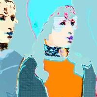 Digital painting • 50x50cm en groter • Dibond-aluminium