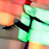 Digital painting • 50x75cm afwerking • Dibond-acryl • serie: In beweging