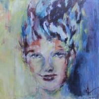 Grace van den Dobbelsteen • 100x100cm • portret