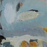 Serie: Abstracte landschappen • Vrijheid • 30x30cm