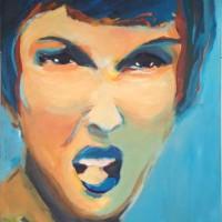 Schilderij op canvas • Gemaakt bij gelegenheid van het Women • afmeting 80x140cm • Grace van den Dobbelsteen Tilburgh