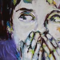 Grace van den Dobbelsteen kunst schilderijen Tilburg • Encore une petite bêtise • 110X140 cm