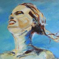 Grace van den Dobbelsteen • Grand Monde • 100x120cm • Schilderij op linnen