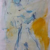 Grace vden Dobbelsteen • kunstwerk op geschept papier • New Day