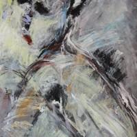 Schilderij op papier • Serie: New Day • 59x83cm