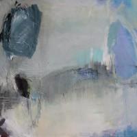 Grace van den Dobbelsteen • abstracte kunst • landschap • 100x120cm