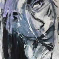 Portret op papier