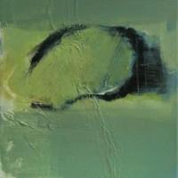 Klein abstract werk op linnen • 30x40cm