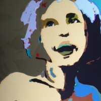 Digital Painting • Grace van den Dobbelsteen • Beeldende kunst Tilburg • vierkant in diverse formaten • werk op alumium dibond