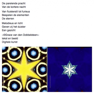 Grace van den Dobbelsteen tekst en beeld Proza-achtige teksten Beeldende kunst en tekstschrijver Tilburg 6