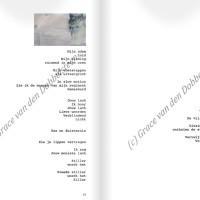 proza en teksten door kunstenaar Tilburg Dobbelsteen