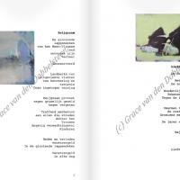 teksten bij de kunstwerken van Dobbelsteen, Grace van den