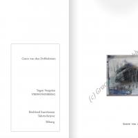 Grace van den Dobbelsteen proza en kunst Tegen Vergeten - Verwondering