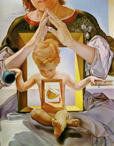 Kunst Tilburg Grace van den Dobbelsteen blogt Madonna Port Lligat 2e versie 1950 Dali