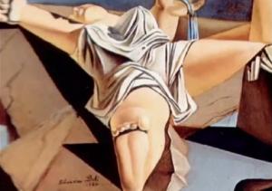 Liggende vrouw Salvador Dali blog Grace van den Dobbelsteen