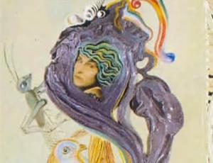 Portret van Gala 1931 Salvador Dali