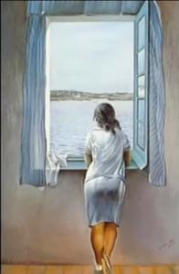 Portret van een jonge vrouw Salvador Dali Blog Grace van den Dobbelsteen