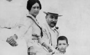 Salvador Dalí en zijn ouders