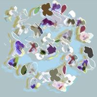 Grace van den Dobbelsteen • Digital painting vierkant • 50x50cm • Andere formaten in overleg • Aluminium dibond