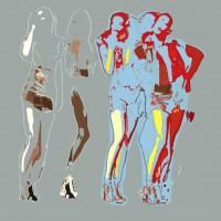 Digital art • vanaf 20x20cm tot groot formaat • op aluminium dibond
