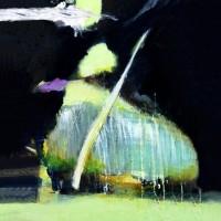Grace van den Dobbelsteen • Digital painting vierkant • (bijvoorbeeld:) 50x50cm • Andere formaten in overleg • Aluminium dibond