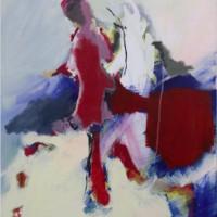 Grace van den Dobbelsteen Tilburg • abstracte kunst • 50x70 cm
