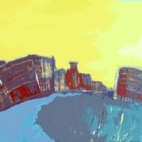 Grace van den Dobbelsteen • kunst • Piushaven Tilburg •Digital Painting • digitale kunst