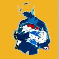 Digital art • Grace van den Dobbelsteen • Ode 50x50 en andere vierkante fortmaten mogelijk