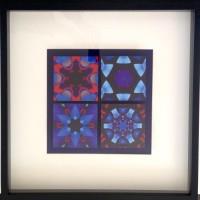 Digital Painting. Lijst 50x50cm