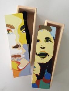 ©Grace van den Dobbelsteen kunst-wijnkistjes relatiegeschenken business gifts