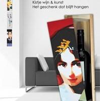 relatiegeschenken wijnkistjes-kunst origineel hoogwaardig cadeau Grace van den Dobbelsteen Beeldende Kunst Kunst-Relatiegeschenken Tilburg
