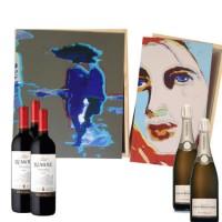 relatiegeschenken wijnkistjes-kunst origineel hoogwaardig cadeau