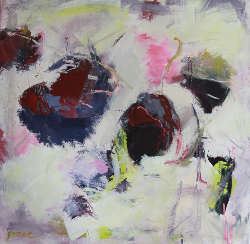 Ongebruikt Abstracte schilderijen van Tilburgse kunstenaar: in Waalwijk VN-06